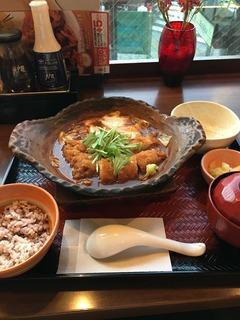 大戸屋 味噌チキンかつ煮定食.jpeg